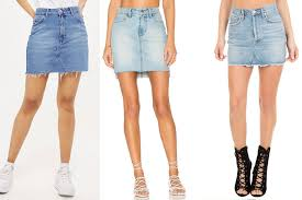 denim skirt hadid s denim mini skirt is a summer closet staple