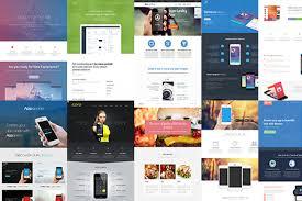 50 excellent html landing page templates free u0026 premium wpfreeware
