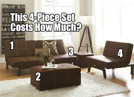 living room futon how to furnish a living room for less than 450