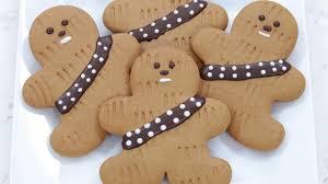 star wars gingerbread wookiee cookies nerdy nummies youtube