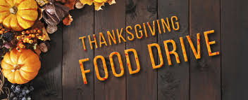 thanksgiving food drive we need you