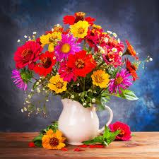 autumn flowers autumn flower bouquet jigsaw puzzle in flowers puzzles on