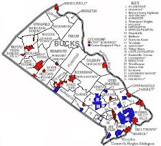 map of bucks county pa towns gutter installation repair bucks county pa yardley new