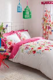 bright floral bedding set multi double bhs