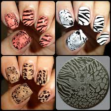 wendy u0027s delights moyou nails stamping plate 303 safari