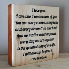 wedding quotes on wood shop wood gifts for husband on wanelo