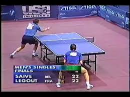 Table Tennis Doubles Rules Incredible Table Tennis Deuce Battle Youtube