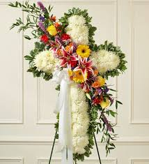 flowers for funeral service flower for funeral service funeral flowers cross spray cross