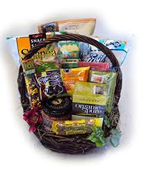 birthday baskets healthy birthday basket for by well baskets