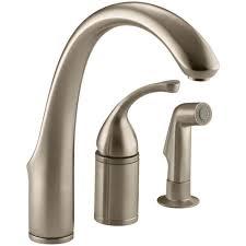 home depot kitchen sink faucets kohler forte single handle standard kitchen faucet with side