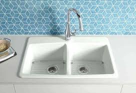 kohler farmhouse sink cleaning kitchen sink cast iron farmhouse sink plumbing kohler cast iron