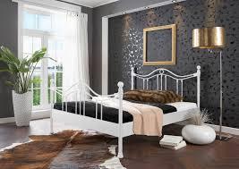 Schlafzimmer Betten G Stig Sam Metallbett Weiß 180 X 200 Cm Kea Günstig