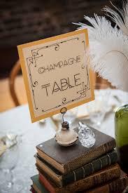 Vintage Table Number Holders Vintage Furniture Rentals Vintageambiance Com