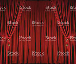 red stage curtains from theatre stock photo 183767588 istock
