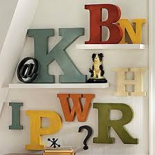 Metal Letters For Decorating