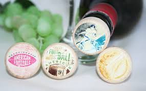 wine stopper wedding favors american football wine stoppers favors wine stopper