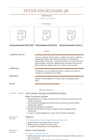 Teamwork Resume Sample by Student Manager Resume Samples Visualcv Resume Samples Database