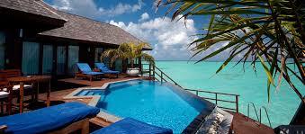 chambre sur pilotis maldives séjour maldives hôtel olhuveli spa resort 4 malé