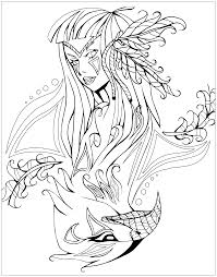 native american savage spirit juline coloring pages for adults