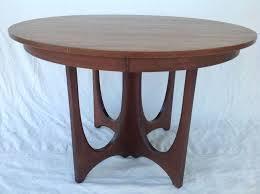 Mid Century Modern Dining Room Furniture by Vintage Broyhill Brasilia Table Leaf Pad 6 Chairs Walnut Mid