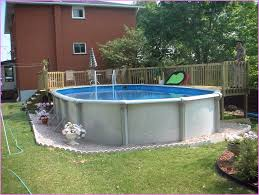 attractive above ground pool landscaping ideas intex above ground