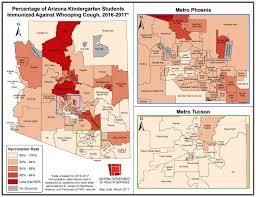 Map Of Yuma Arizona by More Arizona Parents Opting Out Of Vaccinations For Their Kids Kjzz