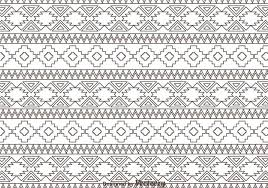 outline aztec ornament pattern 105562 welovesolo