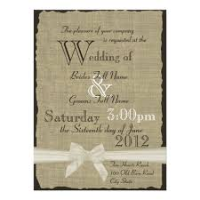 rustic themed wedding invitations card design wedding decor theme