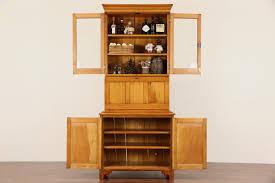 sold country pine 1860 u0027s antique secretary desk u0026 bookcase