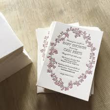 cherry blossom shower invitations u2014 rhapsody letterpress