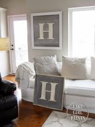 Family Wood Sign Home Decor Lake Paints Making A Monogram Wood Sign Diy Projects For