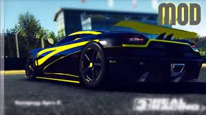 koenigsegg agera s real racing 3 koenigsegg agera r agera s hundra vinyl mod youtube