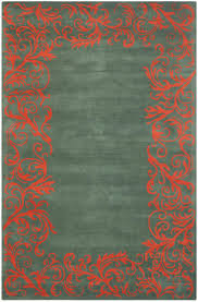modern coral colored area rugs chic and creative home decorators