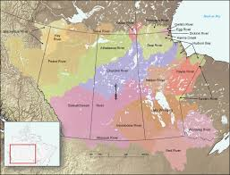 Canadian River Map Dri Drought Research Initiative