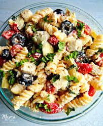 pasta salda creamy italian pasta salad gluten free mama knows gluten free