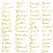 gold name necklaces personalized name necklace silver gold plated 100 names
