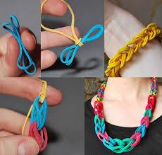 diy bracelet rubber bands images How to make rubber band necklace bracelet diy crafts jpg