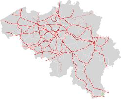 Railroad Map File Belgium Railroad Map Spoorlijn 167 Svg Wikimedia Commons
