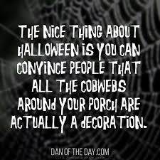 Halloween Decorations Cobwebs Funny Thoughts On Halloween