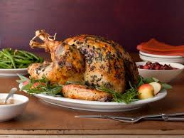 brined herb crusted turkey with apple cider gravy recipe