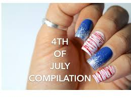 4th of july nail art compilation all skill levels banicured