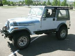 renegade jeep cj7 1986 jeep cj7 renegade image 154