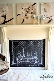 sophia u0027s flea market faux fireplace u0026 master bedroom update