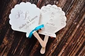 Fan Kits For Wedding Programs Wedding Fans Finding Wedding Ideas