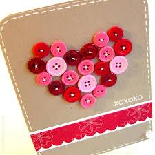love heart card valentinesday