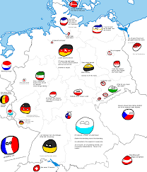 Bavaria Germany Map by Writer Request Polandball Map Of Germany Polandballarena