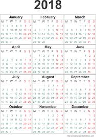 Kalender 2018 Free 2018 Calendar One Page 2017 Calendar With Holidays