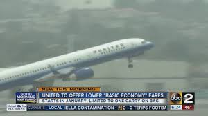 united airline carry on united airlines offers lower
