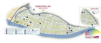 charleston trolley map 2017 charleston rod run doo wop