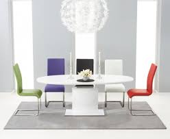 Gloss Dining Tables Amazing White Gloss Dining Table And Chairs White Gloss Dining